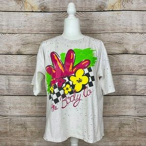 Vintage 90's Body Co. All-Over Splatter T-Shirt